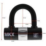 MKX-lock Padlock 120cm _